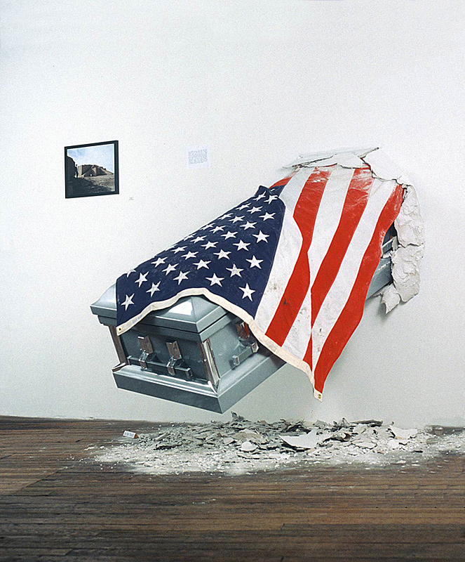 Unknown Soldier, 2009, mixed-media installation, 6' x 5' x 3.5' approx.